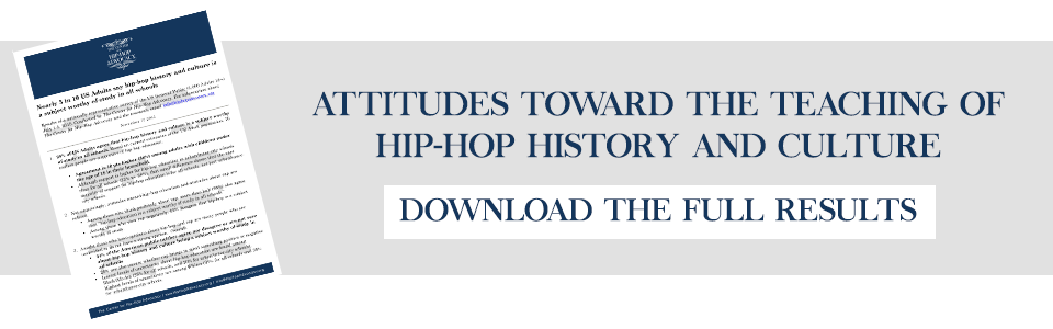 Hip-Hop Education research survey results
