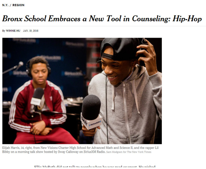 Hip-Hop Therapy, Hip-Hop Education