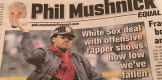 NY Post, Chance The Rapper, Phil Mushnick