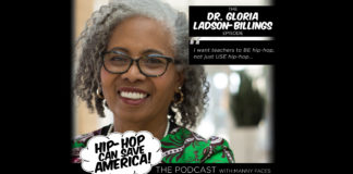 Dr. Gloria Ladson-Billings - Hip-Hop Education pioneer, interview