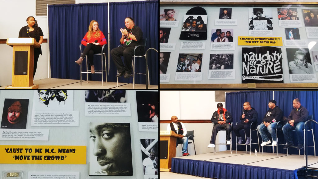 Hip-hop at libraries, museums, universities