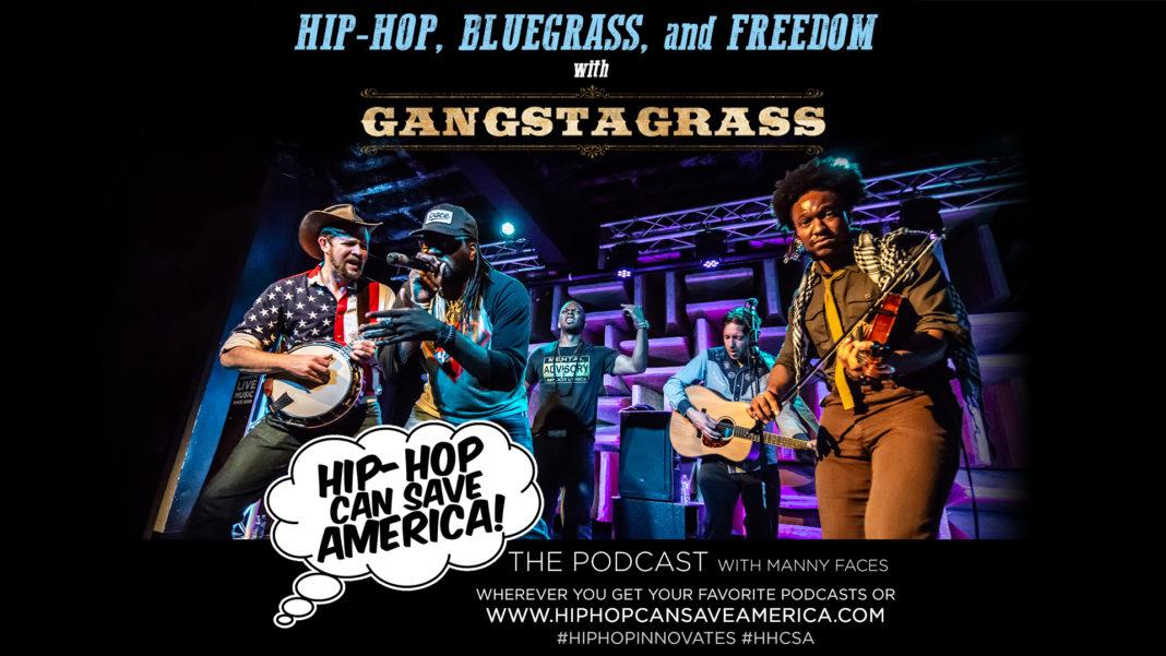 Gangstagrass Podcast Interview: Hip-Hop & Bluegrass