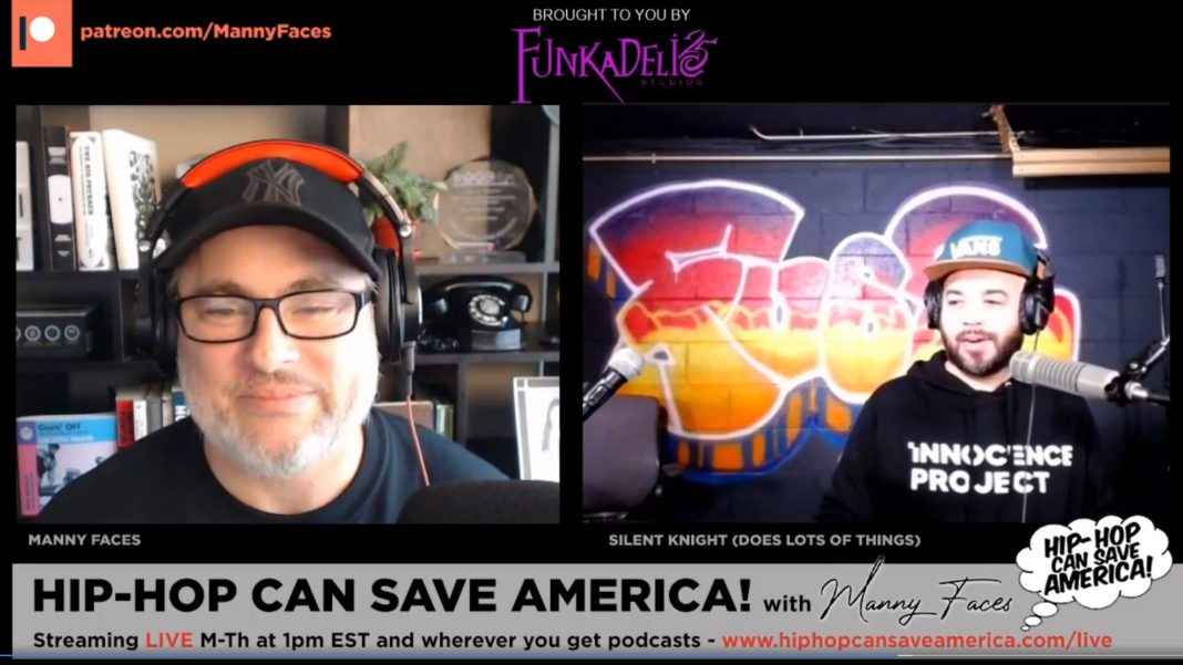 Hip-Hop Can Save America podcast livestream