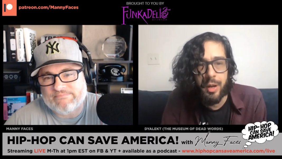 Dyalekt on the Hip-Hop Can Save America podcast