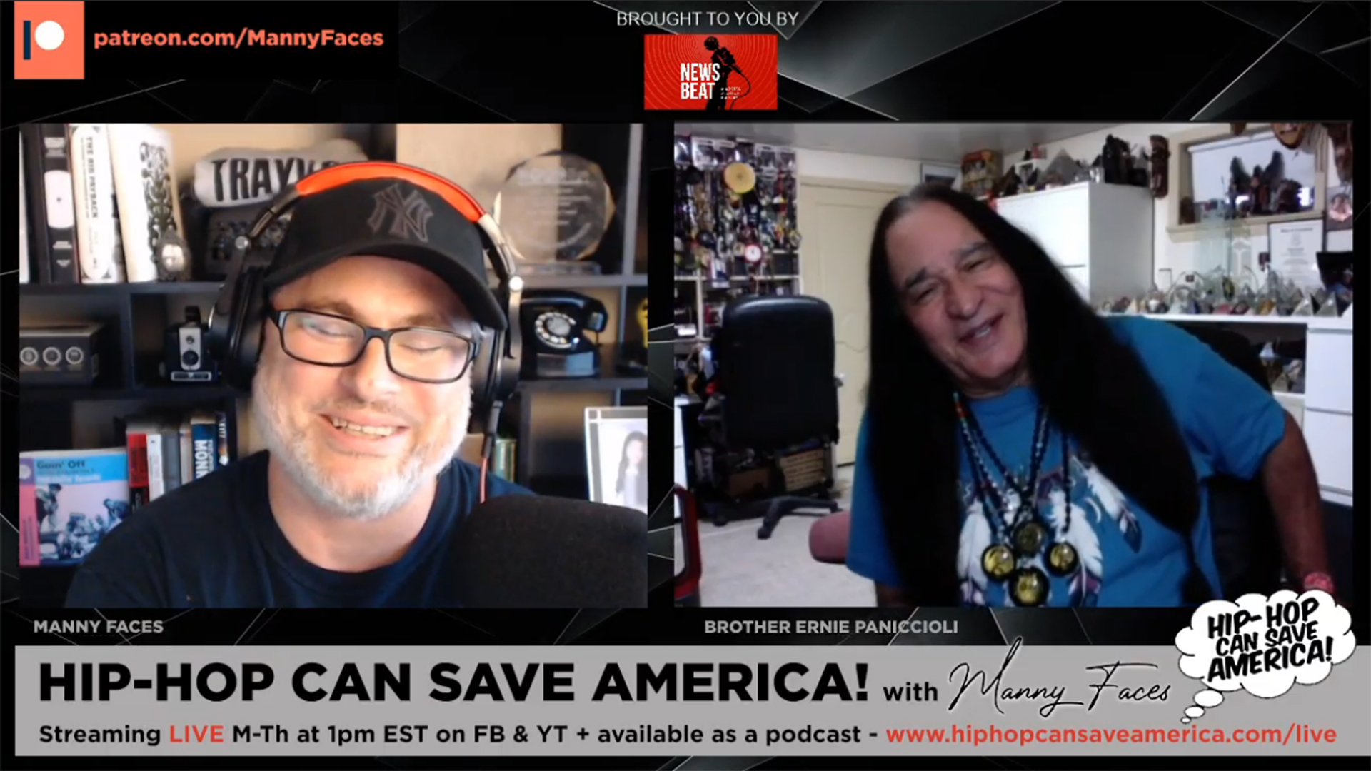Ernie Paniccioli interview - Hip-Hop Can Save America! podcast