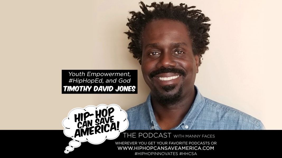 #HipHopEd Timothy David Jones Interview