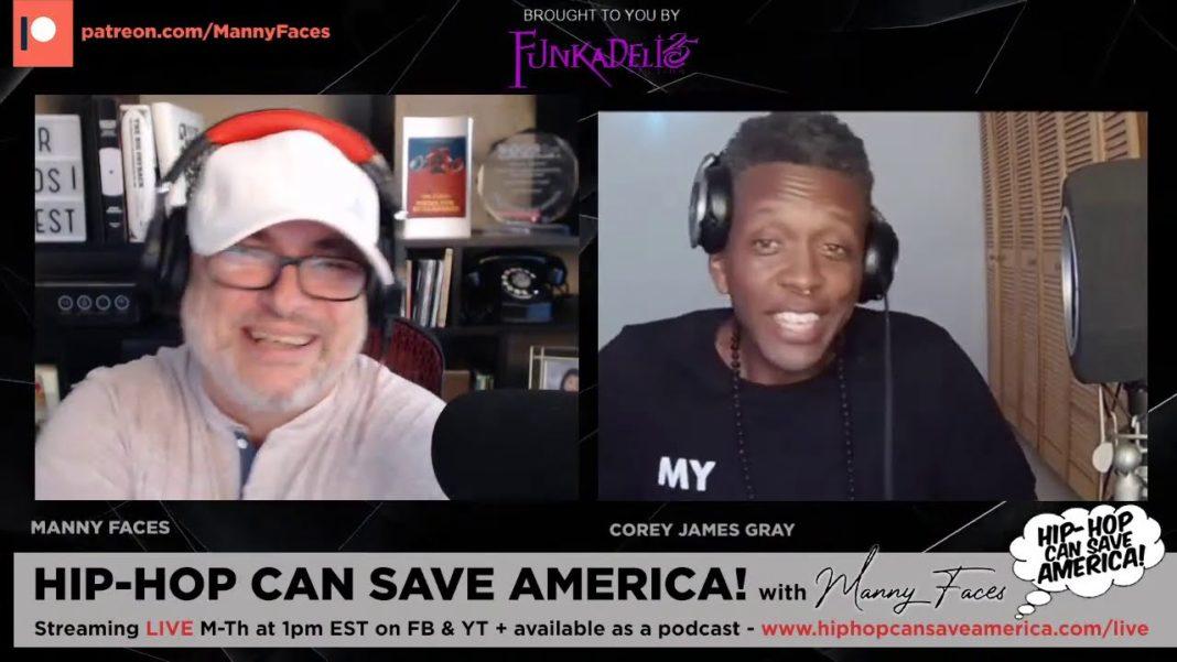 Corey James Gray / Illspokinn / Freestyle Mondays interview