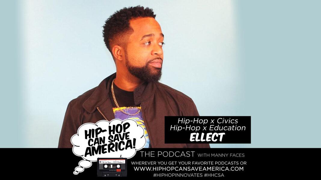 Hip-Hop Civics, Hip-Hop education interview with Ellect