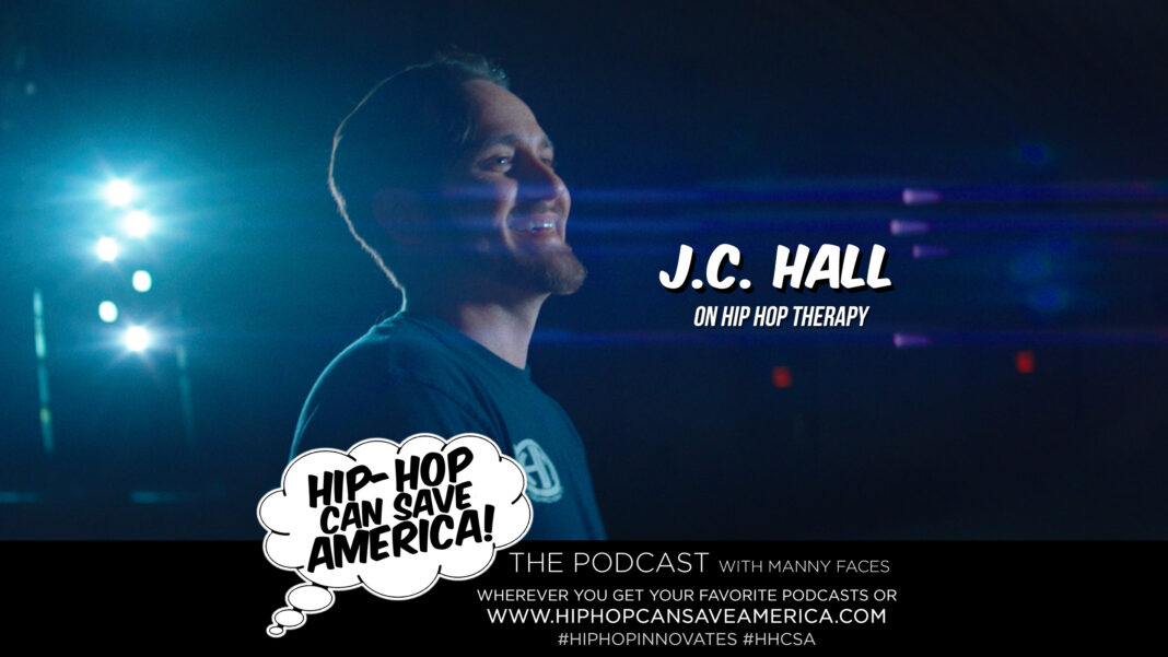 J.C. Hall interview on Hip-Hop Can Save America podcast